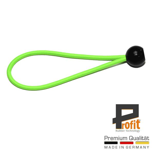 Tenda in gomma 200 mm neon verde | palla | palla di plastica | palla di plastica | gomma di espansione | gomma di bloccaggio | anello di espansione | anello di espansione | tecnologia della gomma Profit