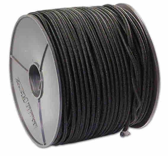 Expanderseil 100 Meter schwarz 10mm Durchmesser | Gummispannband | Gummibänder | Profit | Ladungssicherung |