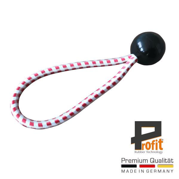 Espansore in gomma con sfera nera 180mm | Austria Edition | Anello di tensione | Anello di espansione | Tecnologia della gomma Profit