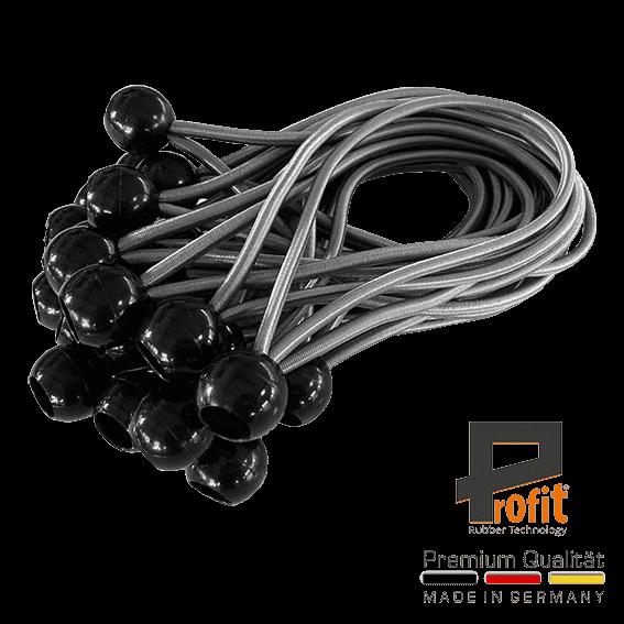 Profitto | corda di gomma | doppio gancio | moschettone | moschettone | corde di tensione | espansore | imbracature ad espansione | imbracature ad espansione con sfera | Spannfix |
