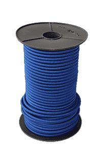 Expanderseil - Expanderseile - 100 Meter Blau 8mm | Gepäckspanngummi | Spanngummis mit Haken |