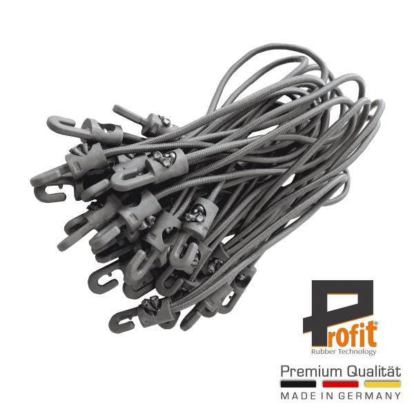 Anelli di gomma di tensione con ganci Grigio 200mm | Gomme di espansione | Gomme di tensione | Gomme di espansione | Anelli di espansione | Tecnologia della gomma di profitto
