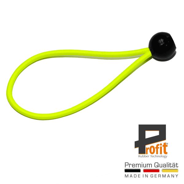 Tenda in gomma con sfera 200mm giallo neon giallo | anello di espansione | loop di tensione | loop di tensione | gomma di espansione | gomma di tensione | gomma di tensione | tecnologia della gomma di profitto