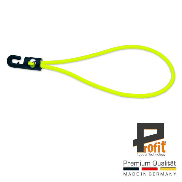 Spannfix | Anello di espansione | Gomma di espansione |180mm | Giallo neon | Gomma per teloni Giallo neon | Anelli di espansione |