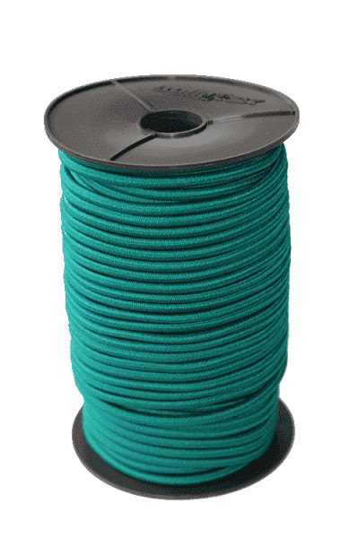 Expanderseil 8mm Grün ab 1 Meter | Gummi Seile | Elastisches Seil | Expanderseile |